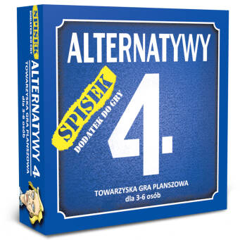 Alternatywy 4. Spisek - dodatek do gry Alternatywy 4