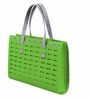 Wiosenny koszyk zielony